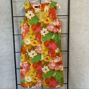 Talbots Floral Summer Dress. Lined. Size 10p